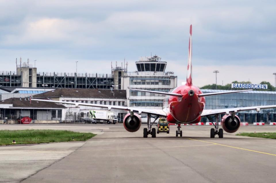 Flughafenführung Airport SCN Saarbrücken
