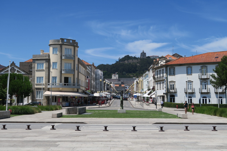 A sunny day in Viana do Castelo, Portugal