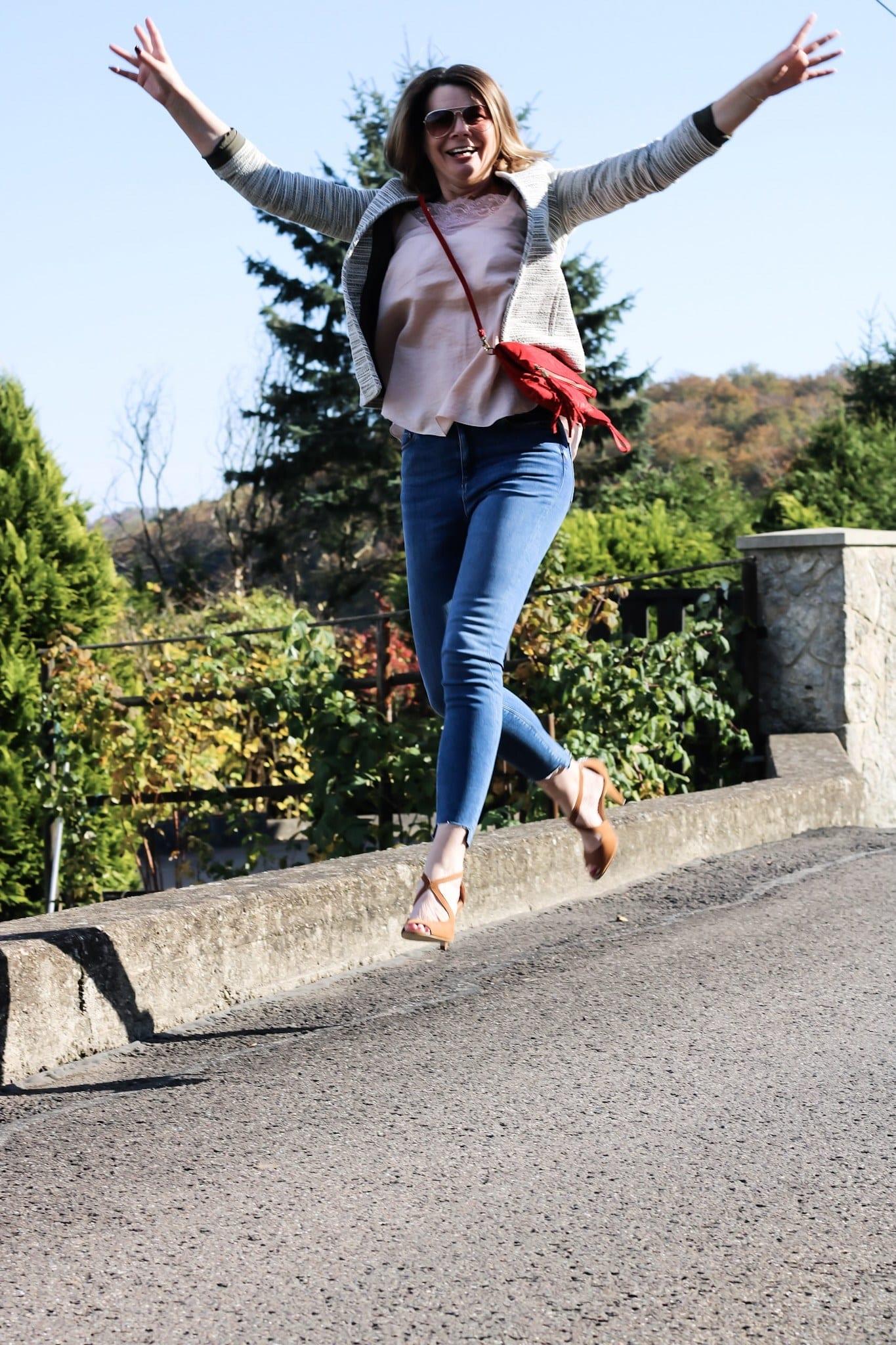 Frau Schirra bloggt macht einen Luftsprung