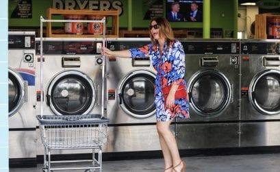 Ein Waschsalon in Miami und im Sog der Zeit