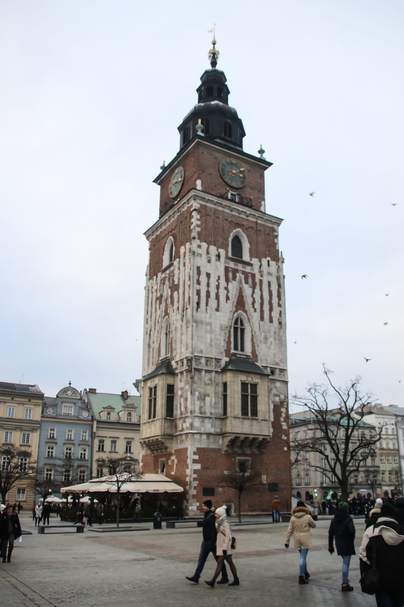 Rathausturm in Krakau