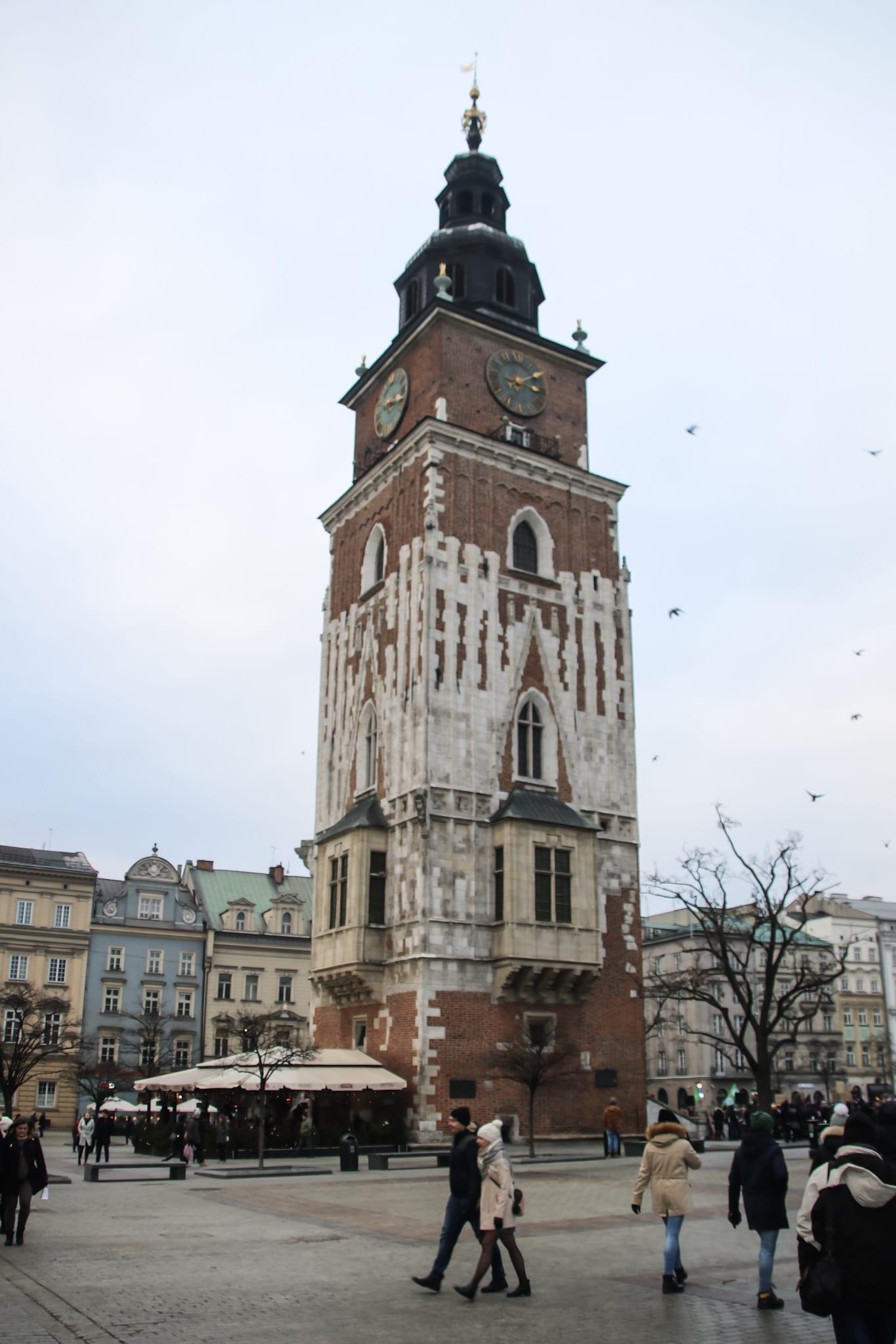 Rathausturm in Krakau