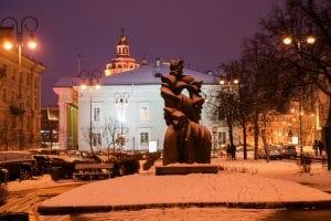 Vilnius im Februar