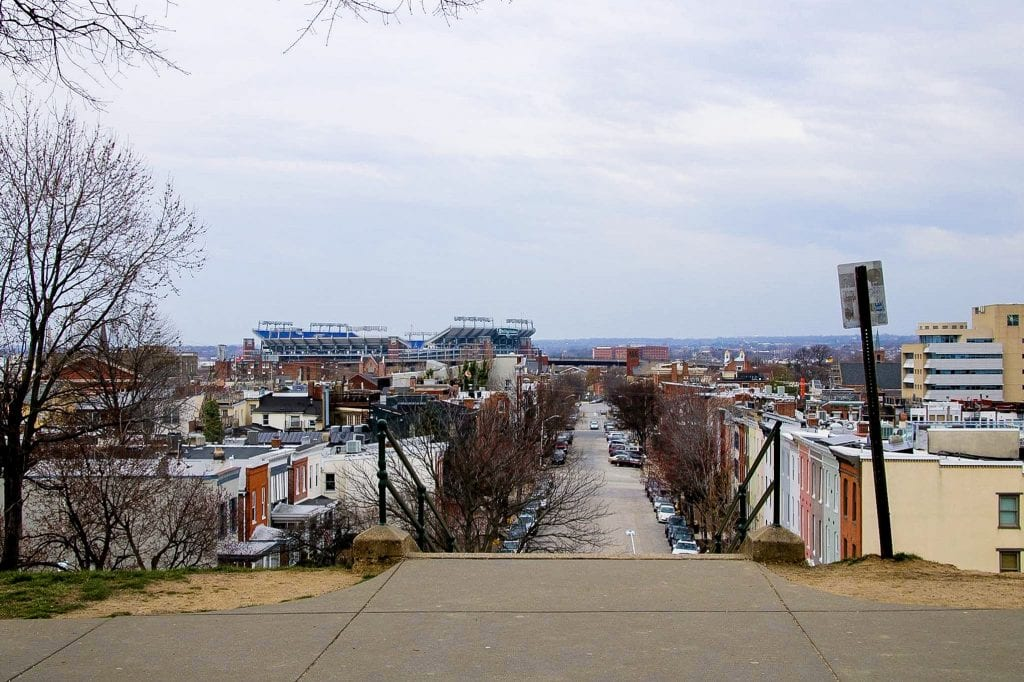 Baltimore Reise