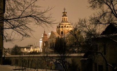 Vilnius – Litauens Hauptstadt im Winter