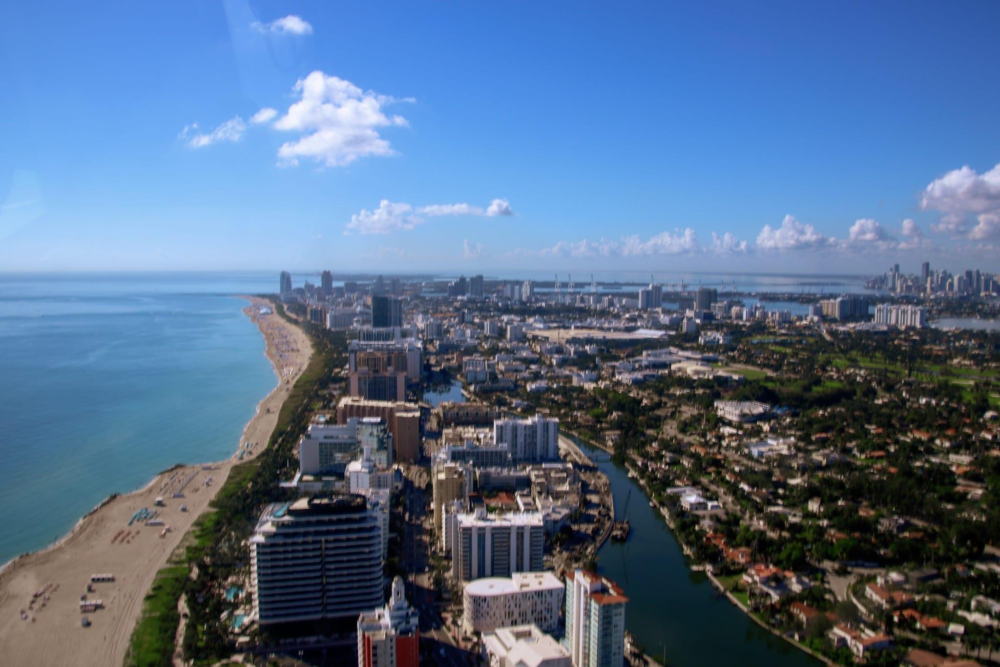 Heliflug in Miami