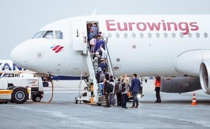 Eurowings streicht Snack & Getränk im SMART-Tarif