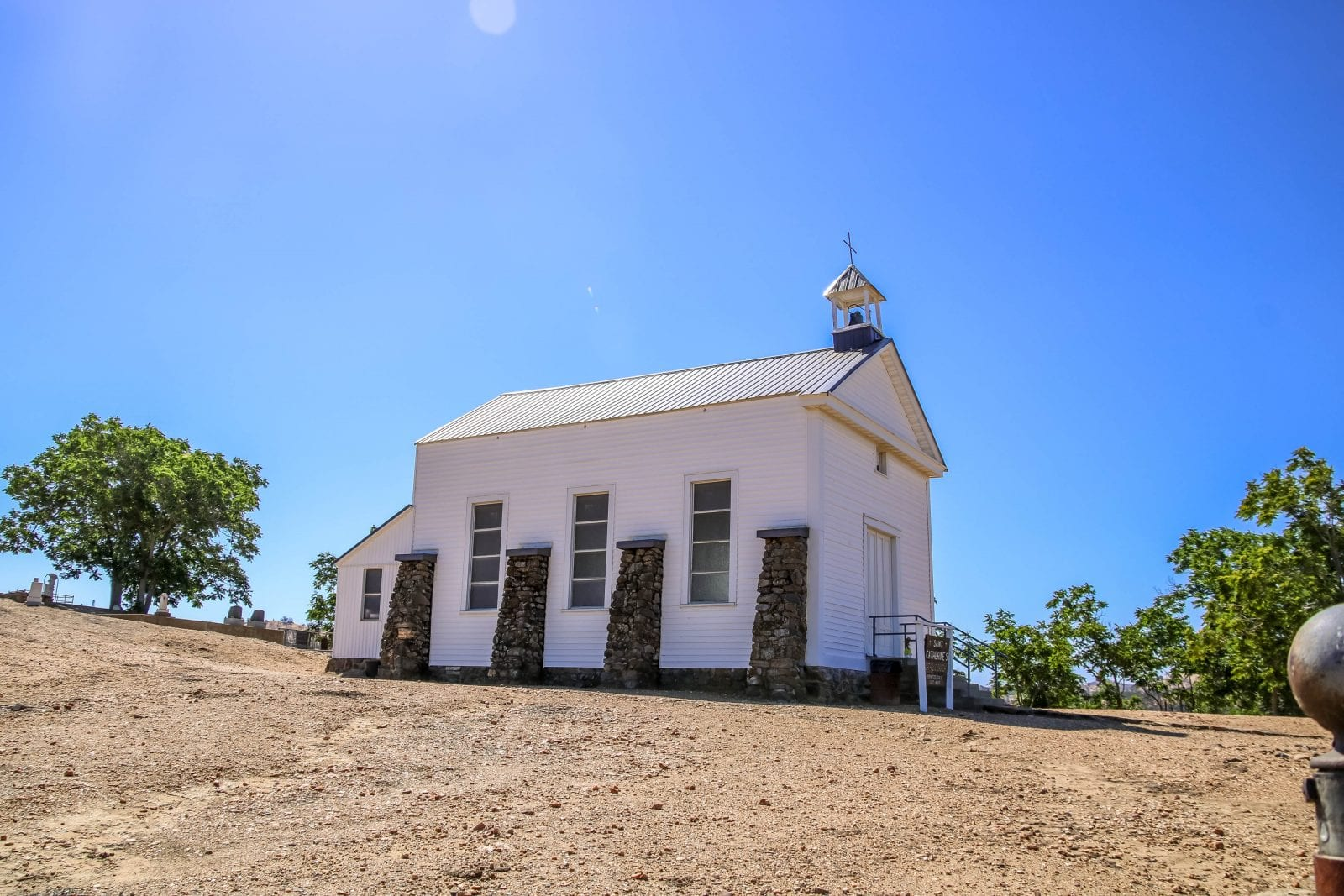 Kirche Hornitos
