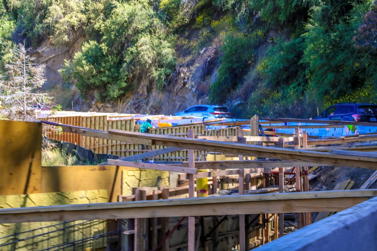 Sequoia Baustelle