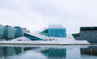 Das Opernhaus in Oslo – Minikreuzfahrt mit DFDS