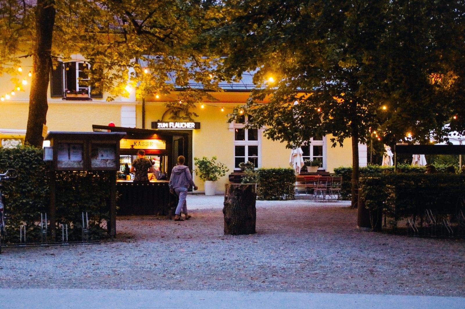 Biergarten Zum Flaucher
