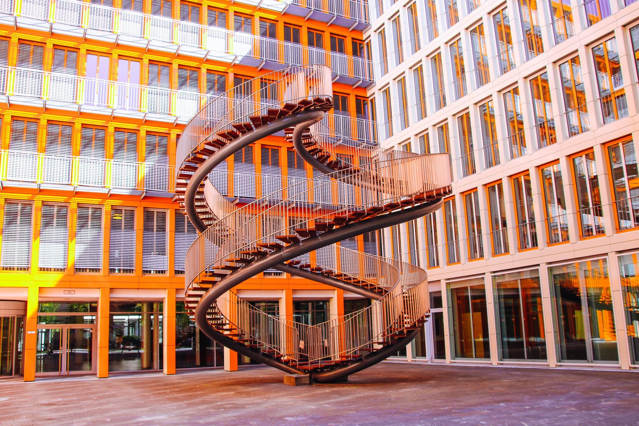 Die unendliche Treppe in München