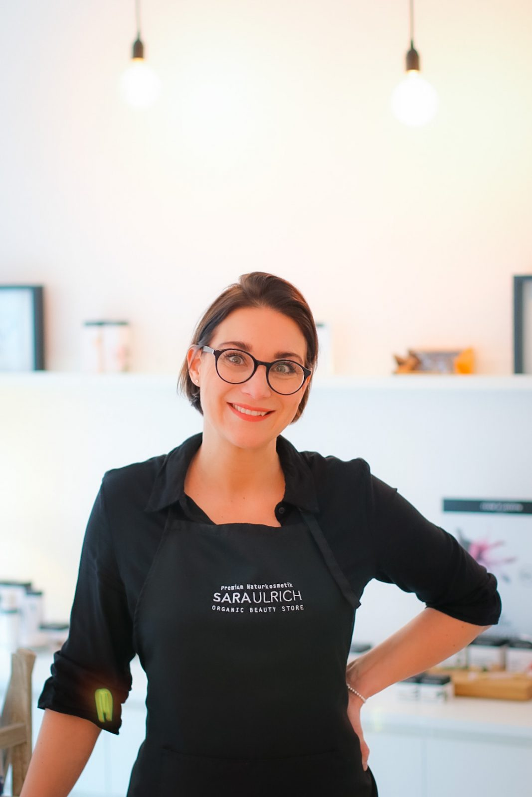 Sara Rolles Gründerin Organic Beauty Store & Spa in Saarbrücken