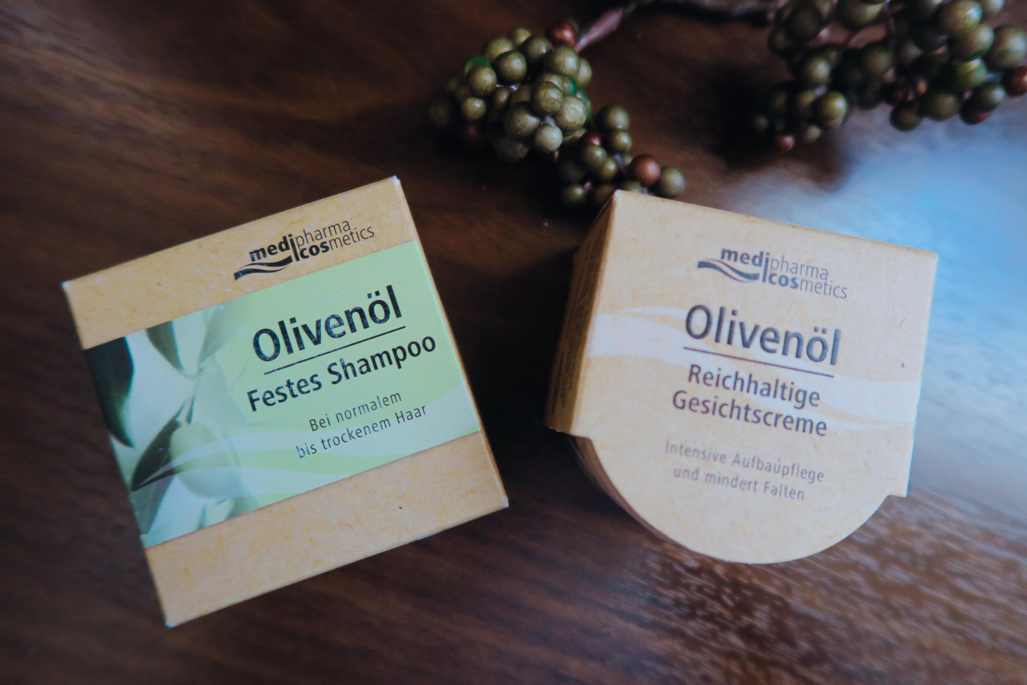 Nachhaltige Olivenöl-Pflegeserie Apotheke Bio-Olivenöl