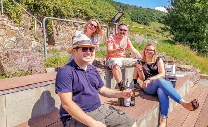Zu Besuch im Weingut Baldes (Zell Mosel)